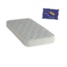 King Of Dreams Baby Dream Matelas 70x140 Mousse Poli Lattex - Hauteur 15 Cm - Anti-acariens Antibactériens Hypoallergénique