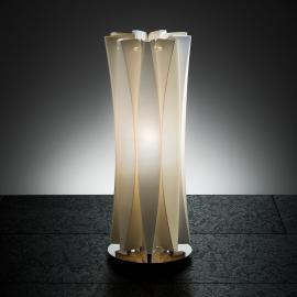Superbe lampe à poser BACH, hauteur 42 cm, or
