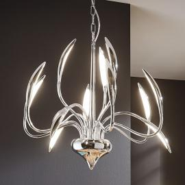 Suspension LED à douze lampes Hampton