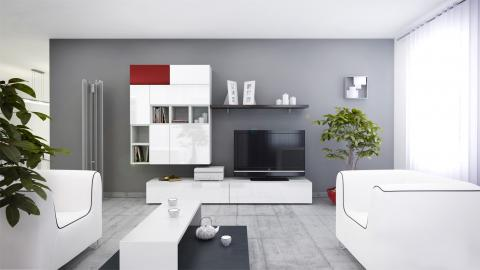 Brin 2 - intérieur meuble tv