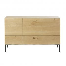 Commode double 6 tiroirs Magnus