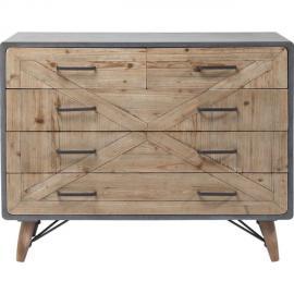 Karedesign Commode X Factory 5 tiroirs Kare Design