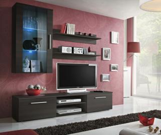 Carlisle 1 - meuble tv avec rangement