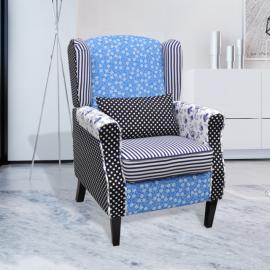 Rocambolesk Superbe Lot de 6 chaises noires aux lignes fines avec une table en verre Neuf