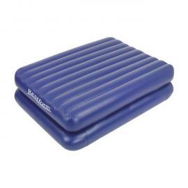 Restform Matelas double gonflable d'appoint -gonfleur électrique - 2 personnes - 137x188 cm