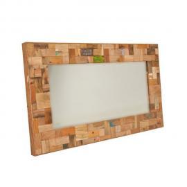 Tousmesmeubles Miroir 120 cm - Industry - L 120 x l 6 x H 70