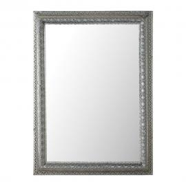 Miroir en métal argenté H 95 cm ISTANBUL