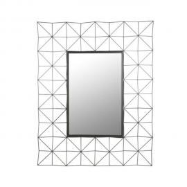 Paris Prix Miroir Mural Rectangulaire 100cm Noir