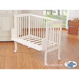 Autre Lit et parure de lit bébé âne bleu ciel de lit coton 120 60