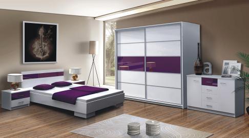 Santana - armoire blanche