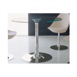 Inside 75 Table repas rond Armony en verre