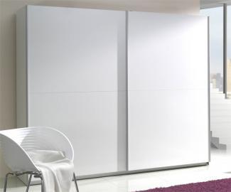 Presta white 1 - white wardrobe cabinet