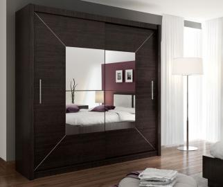 Atlanta - wardrobe with mirror