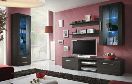 Bellis 3 - wenge entertainment center