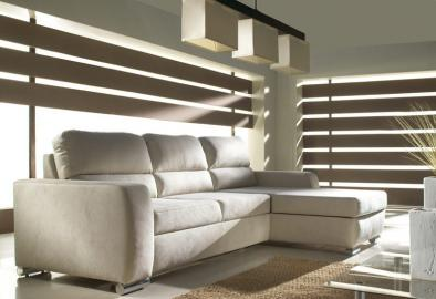 Malmo - Modern corner sofa bed