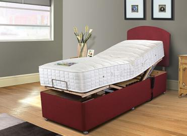 Sleepeezee Cool Comfort Memory Adjustable Divan Set - Adjustable Small Single (75cm x 200cm)