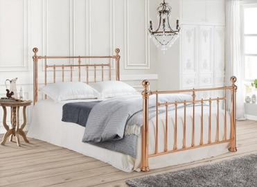 "Time Living Rose Gold Alexander Bed Frame - Double (4'6"" x 6'3"")"