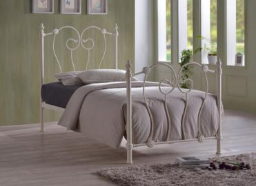"Time Living Ivory Inova Bed Frame - King Size (5' x 6'6"")"