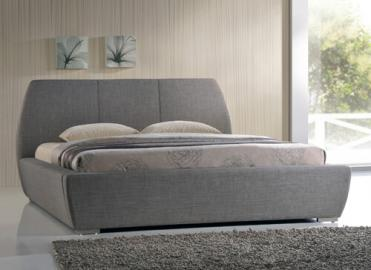 "Time Living Grey Naxos Bed Frame - Double (4'6"" x 6'3"")"
