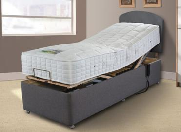 Sleepeezee Gel Comfort 1000 Adjustable Divan Set - Adjustable Small Single (75cm x 200cm)