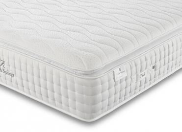 """Tuft  Springs Solitaire 2000 Pocket Memory Pillow Top Mattress - Single (3' x 6'3"""")"""