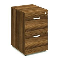 Impulse Filing Cabinet 2 Drawer Walnut - I000132