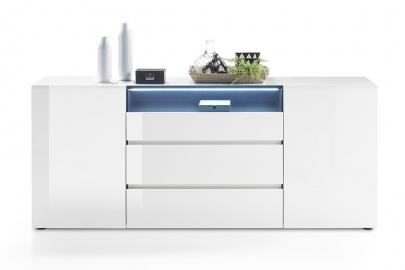 Vicenza Sideboard - long white dresser