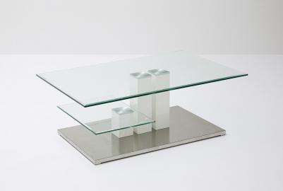 Nils - modern glass coffee table