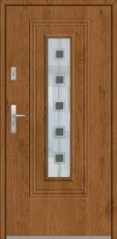 Fargo 6 - single front door with glass