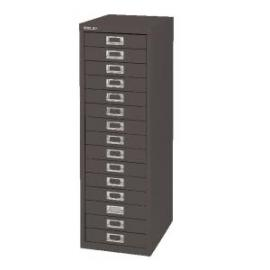 Bisley 15 Drawer Cabinet Black BY39950