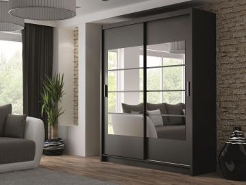 Thurso - sliding wardrobe doors with mirror