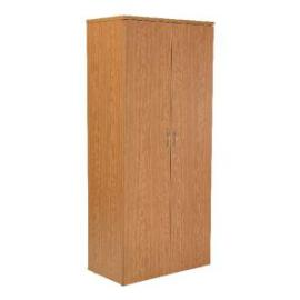 First 1800mm Cupboard 4 Shelf Oak KF839208