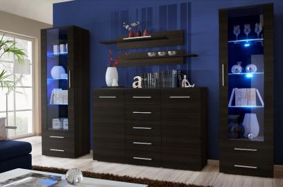 Monaco 7 - wenge wall unit