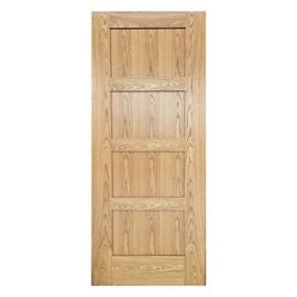 Wickes Marlow Oak 4 Panel Shaker Pre Finsihed Internal Door - 1981mm X 762mm