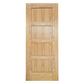 Wickes Marlow Oak 4 Panel Shaker Pre Finished Internal Door - 1981mm X 686mm