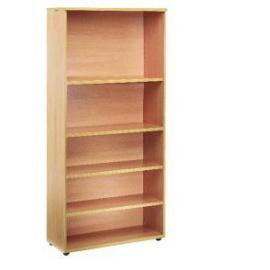 Jemini 1800mm Bookcase 4 Shelf Oak KF838418
