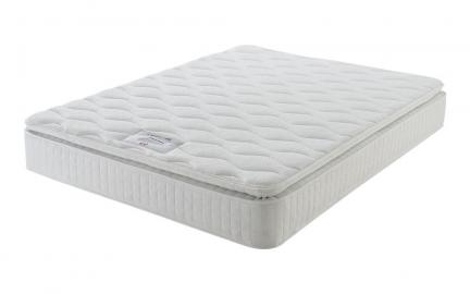 Layezee 800 Pocket Memory Pillow Top Mattress, Single