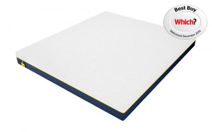 Luna Memory 1000 Pocket Mattress, Superking
