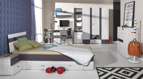 Next C - affordable kids bedroom set