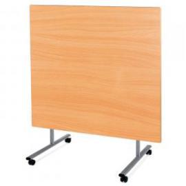 Metalliform Rectangular Tilt Top SteelFolding Dining Table 1200 x 900