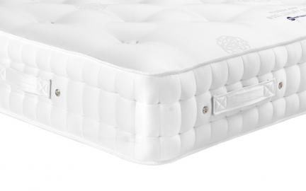 Millbrook Wool Luxury 2000 Pocket Mattress, Small Single