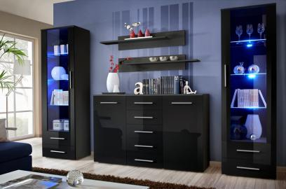 Monaco 8 - living room entertainment center