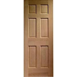 Wickes Colonial External Oak Door 6 Panel 1981 x 838mm
