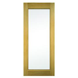 Wickes Oxford External Oak Door Glazed 1981 x 838mm