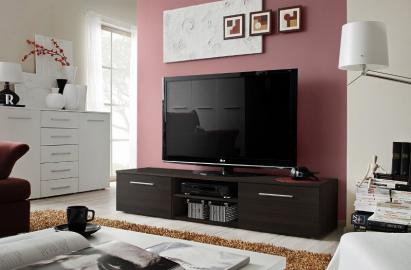 Soto 2 - wenge small tv stand
