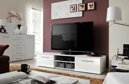 Soto 1 - White tv media stand