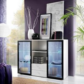 Quadro SB - Modern chest of drawers with LED lights