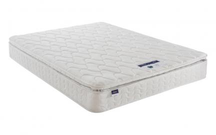 Silentnight Miracoil Pillow Top Mattress, Single
