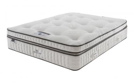 Silentnight Deluxe Box Top Mirapocket 2000 Limited Edition Mattress, Single