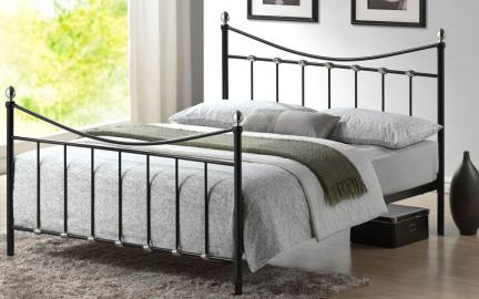 Time Living Oban Metal Bed Frame, King Size